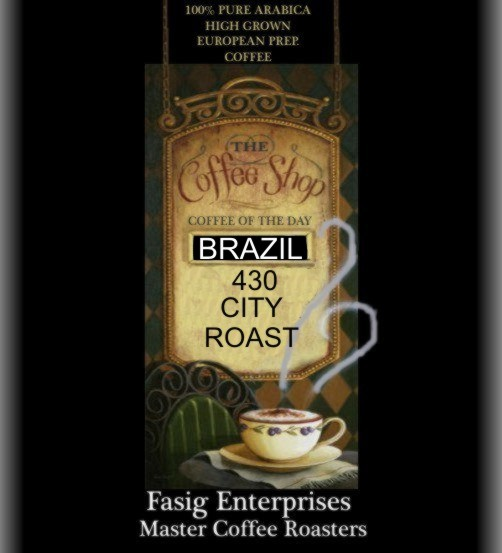Brazil 430 Light Roast 4 lbs