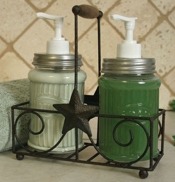 Star Lotion / Soap Caddy