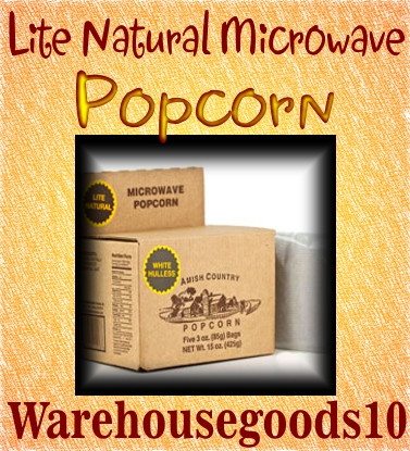 Microwave Popcorn Lite 5 packs