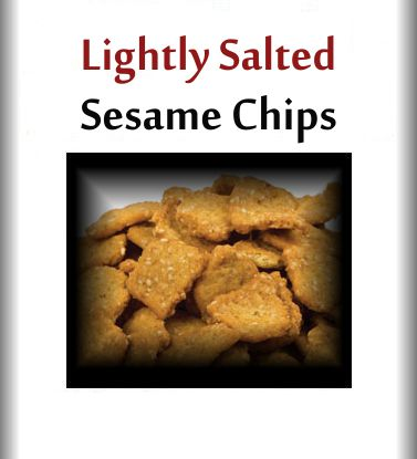 Lightly Salted Sesame Chips 2 lbs