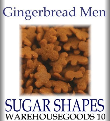 Shapes Gingerbread Men 6 oz